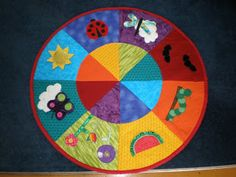 Creative Life: Awesomely bright baby's play mat!