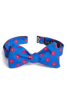 Ted Baker London Dot Wool Bow Tie available at #Nordstrom
