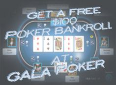 Get a Free Poker Bankroll at GalaPoker with the brand new gala poker bonus no deposit.  http://www.no-deposit-poker-bonus.net