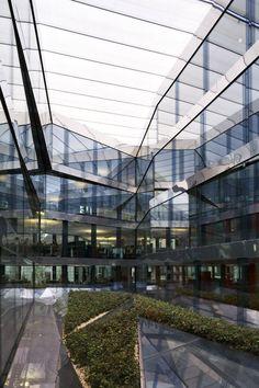 AD Special: Herzog & de Meuron by Duccio Malagamba,Office and Commercial Building Elsässertor © Duccio Malagamba