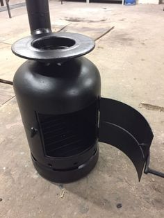 Garden Wood Burner , Patio Heater ,Gas Bottle , Handmade