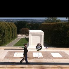 Tomb of The Unknown Soldier  Arlington Cemetery --unbelievably tear jerking.