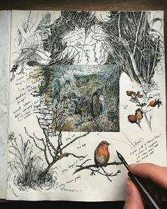 Lily seika jones графика в 2019 г. art sketchbook, illustration art и art j Arte Sketchbook, Sketchbook Pages, Art Journal Pages, Art Journals, Artist Journal, Sketchbook Ideas, Art Sketches, Art Drawings, Drawing Faces