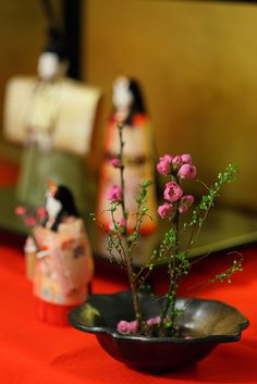 in Japan March 3 is Hinamatsuri (girl's day celebration)