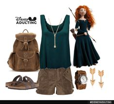 Disneybound-Merida