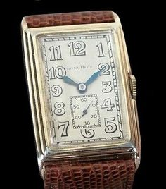 Art Deco Watch by Longines