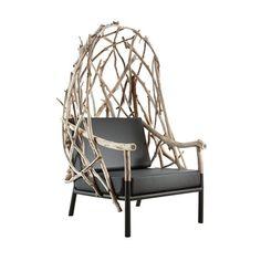 Home Outli Wingback Chair - ELLEDecor.com