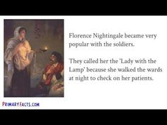Florence Nightingale Facts and Information for Kids, Students and Teachers - YouTube