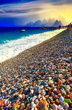Tag your travel buddy! Antalya, Turkey Photo by Free Video Cours Turkey Photos, The Beach, All Nature, Nature Beach, Turkey Travel, Places Around The World, Beautiful Beaches, Wonderful Places, Beautiful World