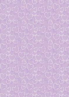 Purple confetti cones?  Valentine's Day scrapbook paper purple heart background
