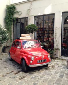 Merci Used Book Cafe in Paris