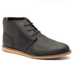 J Shoes Realm Men's Black Leather Chukka Boots   Buy Mens Chukka Boots