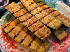 Grilled Yellow Squash Recipe from The Vegetarian Kitchen