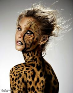 Bar Rafaeli into Cheetah by ilia84  1st place entry in Celebrity Sideshow 10