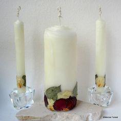 Unity Candle Set Unique Eco Luxury Wedding Candles Handmade By Forestcandlestudio