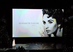 Oscars remembering Elizabeth Taylor
