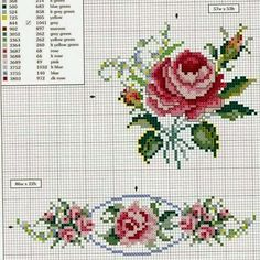 Thrilling Designing Your Own Cross Stitch Embroidery Patterns Ideas. Exhilarating Designing Your Own Cross Stitch Embroidery Patterns Ideas. Cross Stitch Love, Cross Stitch Borders, Cross Stitch Flowers, Counted Cross Stitch Patterns, Cross Stitch Charts, Cross Stitch Designs, Cross Stitching, Rose Embroidery, Cross Stitch Embroidery