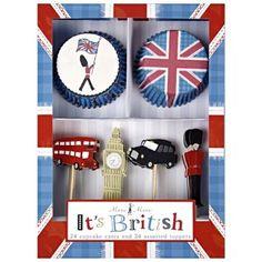 Meri Meri It's British Cupcake Kit: Kitchen & Dining: Amazon.com