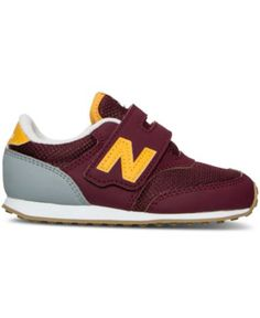 New Balance Toddler Boys' 420 Velcro Casual Sneakers from Finish Line - Finish Line Athletic Shoes - Kids & Baby - Macy's