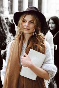 CLEMENCE POESY fashion week | Tumblr