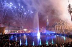 Bradford City Park water fountains