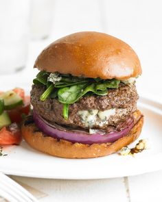 Take backyard burgers from monotonous to memorable with these next-level grilled burger recipes. When you've had your fill of the usual beef burgers from the grill, try our recipes for grilled chicken burgers, turkey burgers, veggie burgers, and sliders, too. #grillingtips #summergrilling #burgerrecipe #bestburgerrecipe #grillinghacks #bhg Grilled Chicken Burgers, Grilled Burger Recipes, Best Burger Recipe, Turkey Burgers, Grilled Chicken Recipes, Salmon Burgers, Veggie Burgers, Backyard Burger, Blue Cheese Burgers