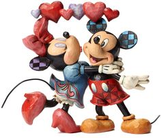 Disney Traditions by Jim Shore - Love Is In The Air 3250 points #ValentinesDay #MickeyMouse #MinnieMouse #Love #Disney