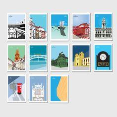 Oporto Postcards