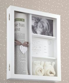 Welcome To The World - My 1st Memories Frame - WTTW Gifts - Mamas & Papas