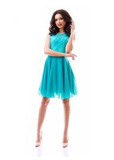 Turquoise Bridesmaid Dress,Turquoise Wedding Dress Lace Chiffon Cute Sleeveless Turquoise Dress by Dioriss on Etsy https://www.etsy.com/uk/listing/295208121/turquoise-bridesmaid-dressturquoise