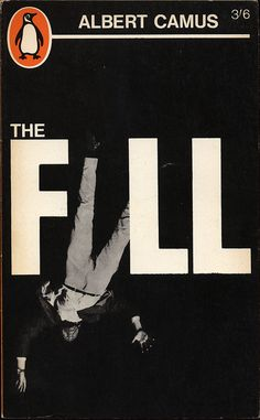 """The way the the title incorporated a falling man as a letter """"A"""" of """"FALL"""" is a very creative and unique way of visualizing the message the cover is trying to say."""