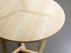 At the intersection of traditional handicraft and modern design, the TER table and stool look to Japanese joinery to achieve aesthetically puzzling, minimal construction; all without the use of glue, nails, or screws. Each is composed of just nine pieces which are held together with the weight and pressure of the top plate. With the top in place, the design is sturdy and rigid. Remove it and the table and stool are flat pack ready! Designer: Christian Ferrara
