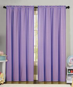Look what I found on #zulily! Purple Eve Curtain Panel #zulilyfinds