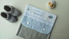 pontinhos meus: Bolsa 1ª roupinha - for 1st baby clothes