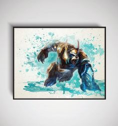 League of Legends Thunder Lord Volibear Art by DesignersJuice