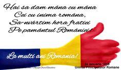 Hai sa dam mana cu mana ... La multi ani Romania! 1 Decembrie, Romania, Coloring, Facebook, School, Frases, Schools