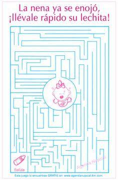 Juegos Para El Baby Shower Para Imprimir Gratis Kit De Imagenes