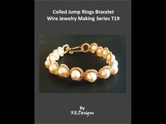 Wire Jewelry Tutorial: Coiled Rings Bracelet