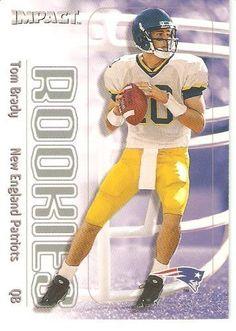 2000 Fleer SkyBox Impact # 27 Tom Brady RC - New England Patriots -Football Rookie Card by Fleer. $42.88. 2000 Fleer SkyBox Impact # 27 Tom Brady RC - New England Patriots -Football Rookie Card
