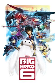Big Hero 6 - Created by Richard Davies Part of the Poster Posse's exclusive feature on the newly released Disney film, check it out here!