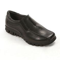 Deer Stags Stadium Boys' Slip-On Shoes, Boy's, Size: medium (2.5), Black