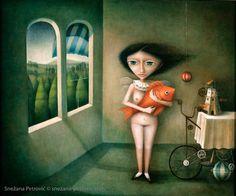 MAGIC OF THE MORNING by SNEZANA PETROVIC