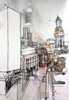 Urban Sketchers: A busy week for the Manchester group