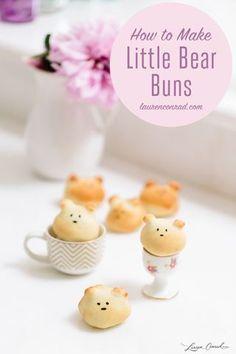 Edible Obsession: Little Bear Buns   Lauren Conrad   Bloglovin'