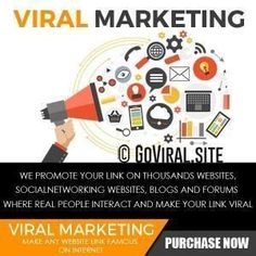 Goviral.site helps videos Go Viral with Premium Video Marketing Service. Launch Viral Video Campaigns on Top social Media sites with video sites submission. #videomarketingservices