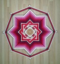 Mandala Ojo de Dios Slavic Obereg por BeHappyMandalaShop en Etsy
