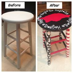 Razorback Barstool :):) Go Hogs  B.B. really needs this in her classroom; jus' saying.