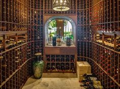 Love wine? Know a wine lover? This Star Island home has the wine cellar of any wineos dreams.