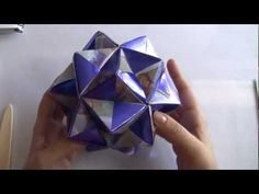 KUSUDAMA ( DOBRANDO OS MODULOS) - MODELO BÁSICO 1 - 1ª PARTE - YouTube