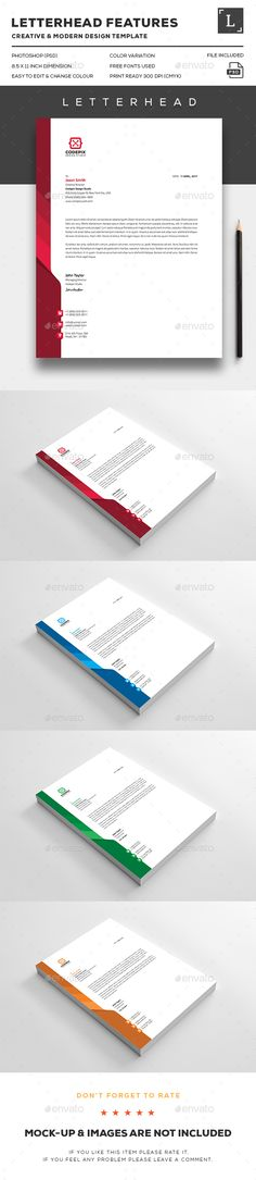 Letterhead  Stationery Templates And Letterhead